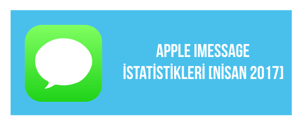 Apple iMessage İstatistikleri [Nisan 2017]